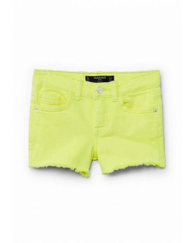 Зеленые шорты джинсовые Mango Kids