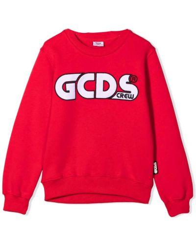 Czerwona bluza dresowa Gcds