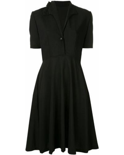 Платье на пуговицах - черное Zambesi