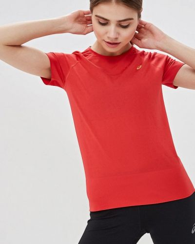 Спортивная футболка турецкий красный Asics