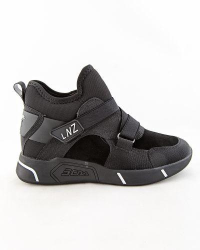 Черные текстильные ботинки Prima D'arte