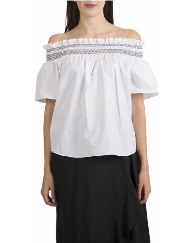 Bluzka oversize - biała Pinko