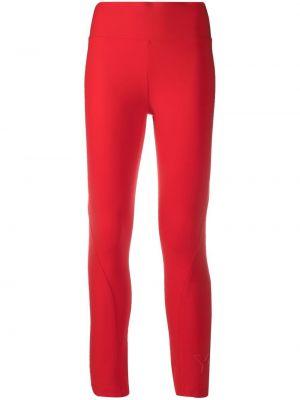 Красные спортивные леггинсы с высокой посадкой с карманами Y-3
