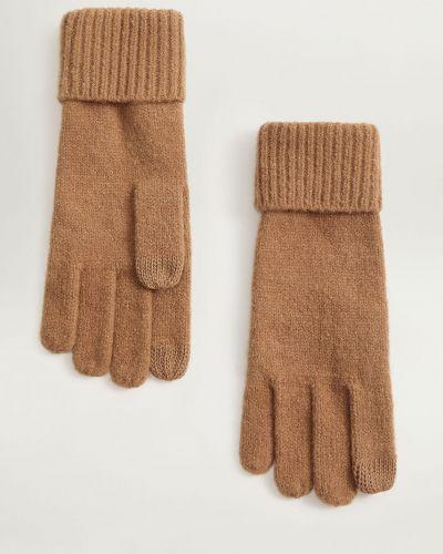 Перчатки шерстяные текстильные Mango