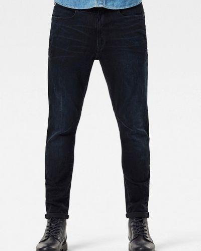 Зауженные черные джинсы-скинни G-star