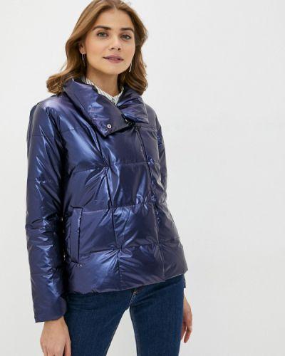 Утепленная синяя куртка Pink Frost