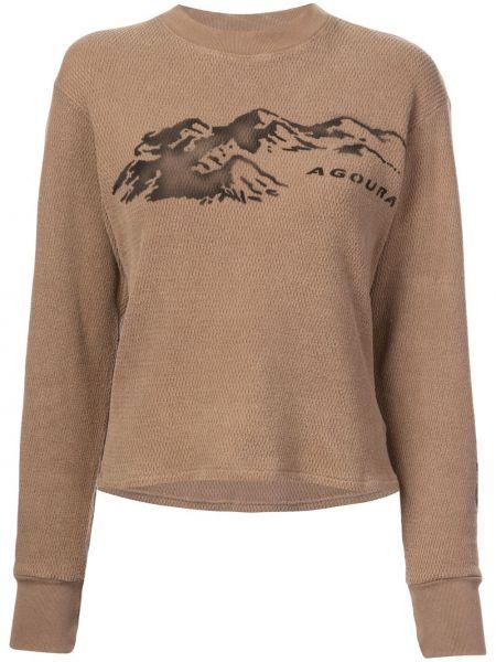 Свитер - коричневый Yeezy