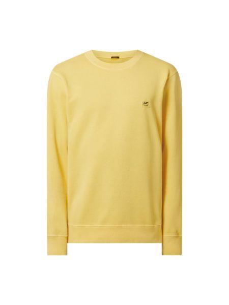Żółta bluza bawełniana Denham