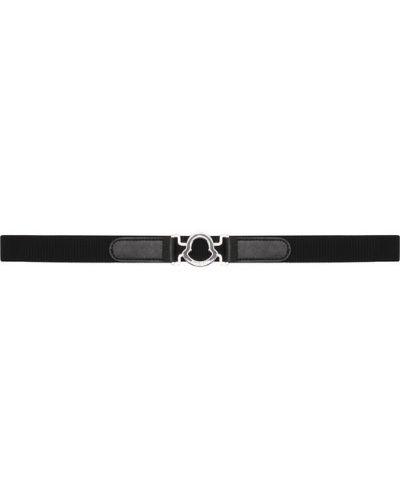 Ремень металлический черный Moncler