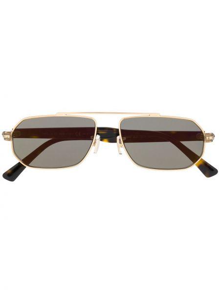 Прямые муслиновые солнцезащитные очки Jimmy Choo Eyewear