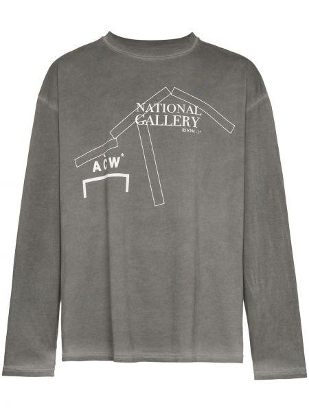 Koszula z długim rękawem prosto długa A-cold-wall*