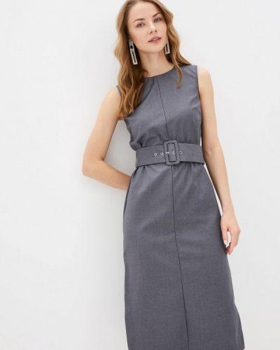 Платье - серое Zarina