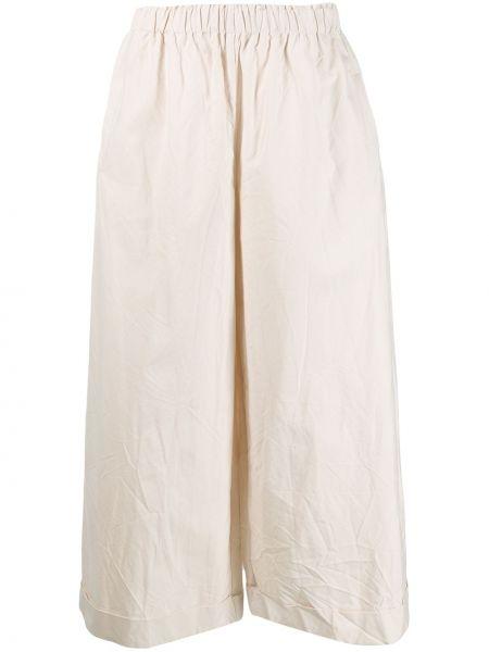Персиковые расклешенные свободные брюки Daniela Gregis
