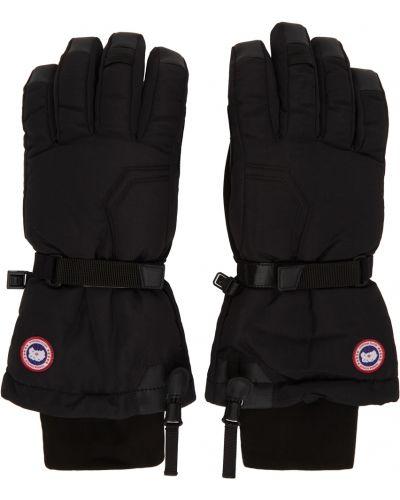 Rękawiczki z nylonu - białe Canada Goose