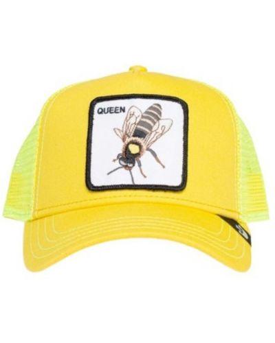 Żółta czapka Goorin Bros