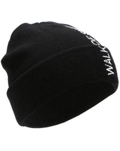 Черная шапка хлопковая Walk Of Shame