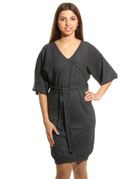 Шерстяное платье - серое Cerruti 18crr81