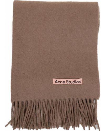 Beżowy szalik Acne Studios