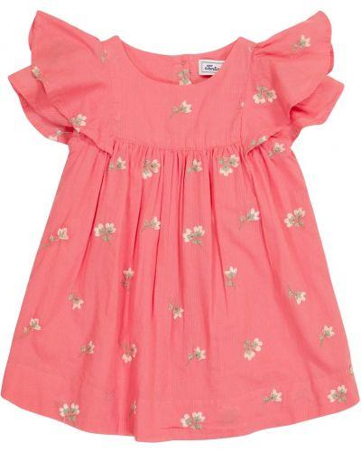 Платье с вышивкой - розовое Tartine Et Chocolat