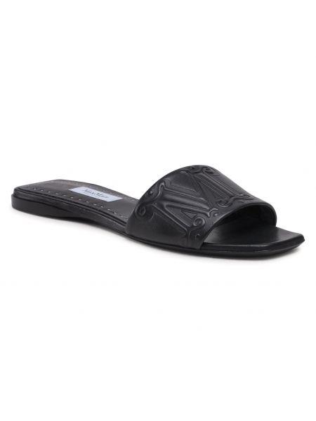 Czarne sandały casual Max Mara