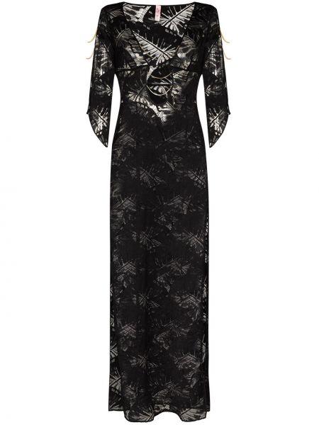 Пляжное черное платье Agent Provocateur