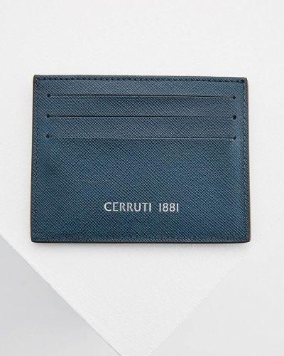 Визитница синий Cerruti 1881