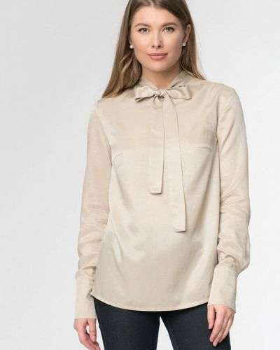Блузка с длинным рукавом весенний бежевый A'tani