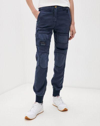 Синие брюки карго Aeronautica Militare