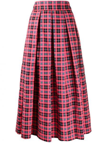 Плиссированная юбка миди с завышенной талией Department 5