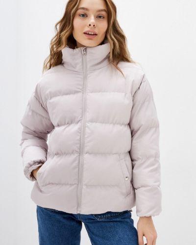 Утепленная куртка - бежевая Trendyol