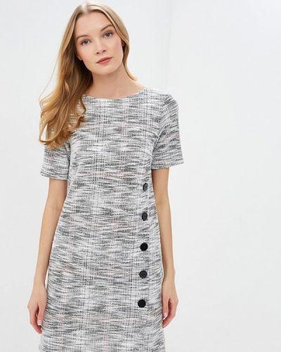 Повседневное платье весеннее серое Wallis