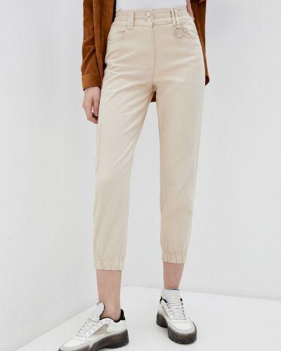 Зауженные бежевые брюки Defacto