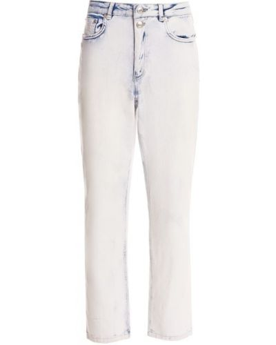 Голубые хлопковые джинсы Set