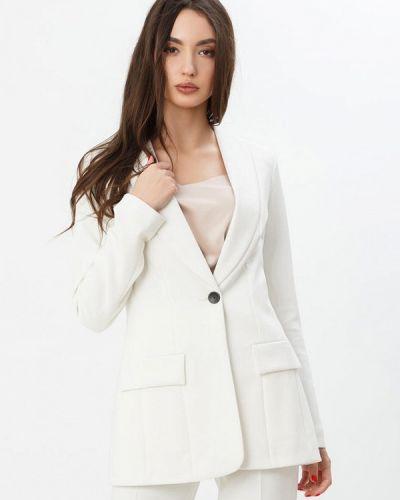 Пиджак белый Gepur