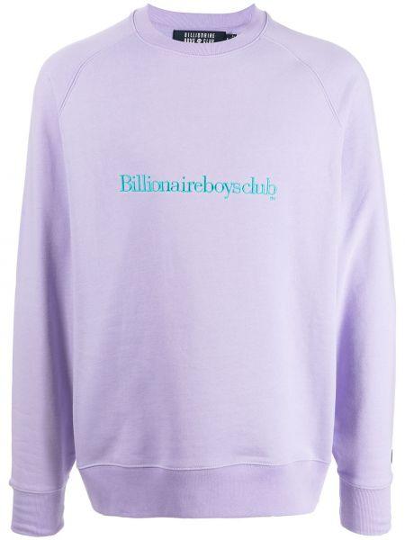 Фиолетовая флисовая толстовка Billionaire Boys Club