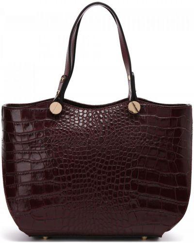 Бордовая текстильная сумка Fabi