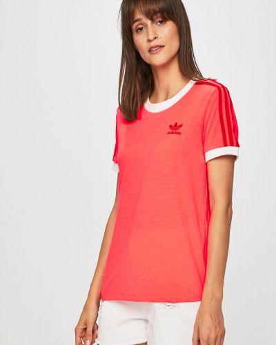 Футболка розовый фуксия Adidas Originals