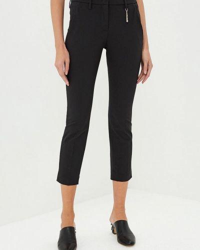Черные классические брюки с карманами Versus Versace