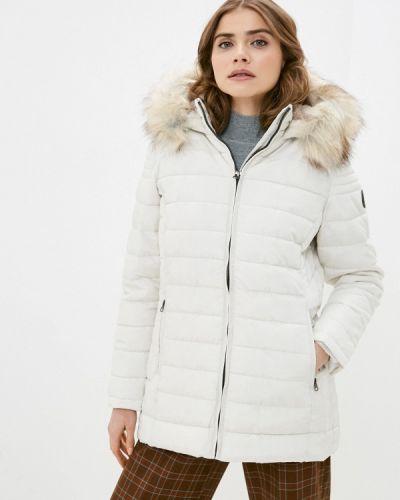 Утепленная белая куртка Haily's