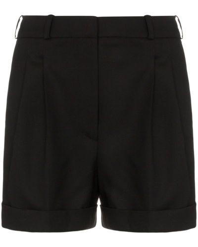 Однобортные черные шорты Racil
