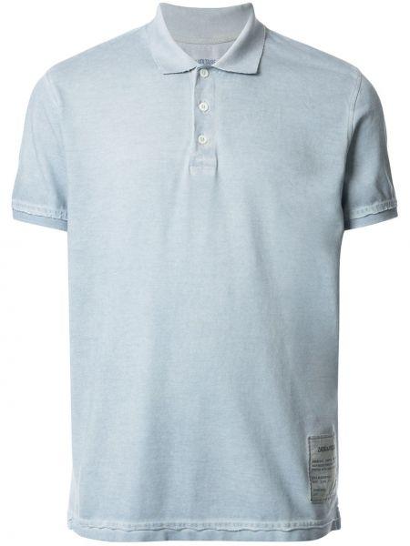 Koszula krótkie z krótkim rękawem klasyczna z logo Zadig&voltaire