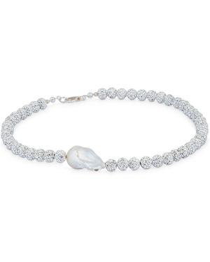 Krótkie szorty perły srebrny Magda Butrym