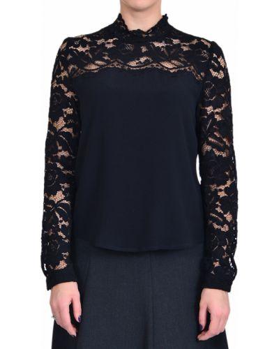 Блузка из вискозы - черная Iblues