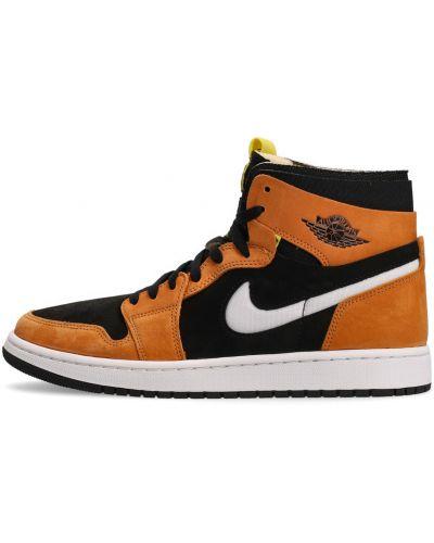 Pomarańczowe sneakersy Nike