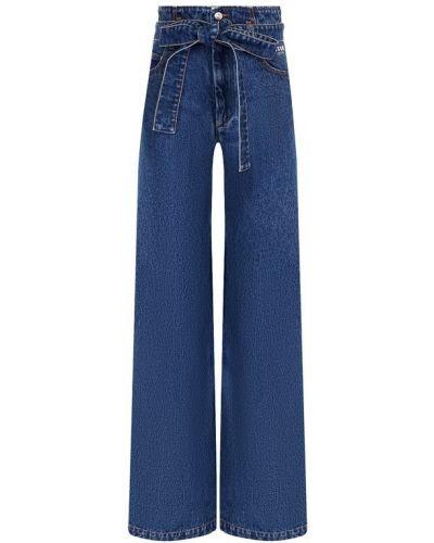 Расклешенные джинсы с поясом Msgm