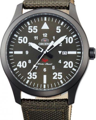 Часы водонепроницаемые зеленый Orient