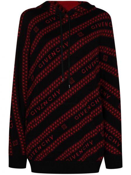 Czarny sweter wełniany Givenchy