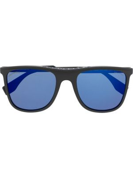 Прямые муслиновые черные солнцезащитные очки квадратные Converse