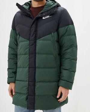 Куртка осенняя зеленая Nike