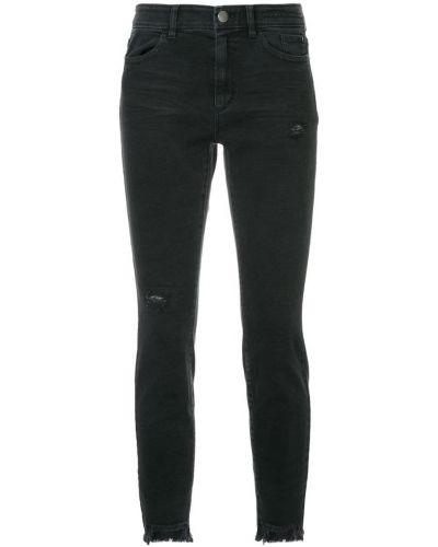 облегающие джинсы с асимметричным низом Marc Cain